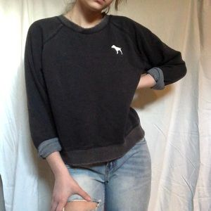 VICTORIAS SECRET PINK black sweater